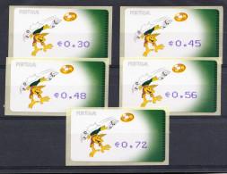 PORTUGAL 2004. ETIQUETAS UEFA EURO 2004 AFINSA Nº 27. NUEVO.SIN CHARNELA ,SES288GRANDE - Viñetas De Franqueo (ATM/Frama)