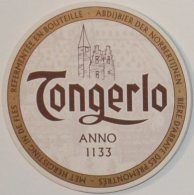 Sous-bock TONGERLO Abdijbier Der Norbertijnen Bière D´abbaye Des Prémontrés Bierdeckel Beermat Bierviltje (N) - Sous-bocks