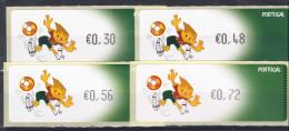 PORTUGAL 2004. ETIQUETAS UEFA EURO 2004 AFINSA Nº 28. NUEVO.SIN CHARNELA ,SES288GRANDE - Viñetas De Franqueo (ATM/Frama)
