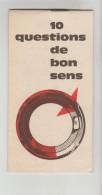 """LIVRET PUBLICITAIRE BENDIX """"10 QUESTIONS DE BON SENS"""" 24 PAGES Léon DAUMAS 6 Rue Porte Neuve GRASSE (Alpes Maritimes) - Publicités"""