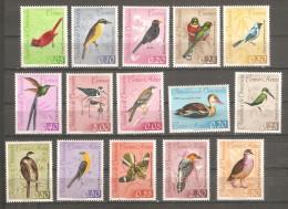 Serie Nº 660/6 +A-769/76 Venezuela - Birds