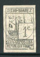 DIEGO SUAREZ- Y&T N°6- Oblitéré (très Belle Oblitération) - Diégo-Suarez (1890-1898)