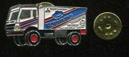 Pin´s - Camion Transport Rallye ROTHMANS Mitsubishi Motors Michelin Facom - Transports