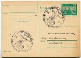 RATHAUS WERNIGERODE 1982  Auf  DDR  Postkarte P 79 - Ferien & Tourismus