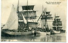 13 - PORT SAINT LOUIS DU RHONE - Voiliers Dans Le Port - France