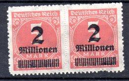 ALEMANIA REICH .  AÑO 1923.   Mi  312 B X 2 (MNH) - Germany