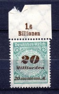 ALEMANIA REICH .  AÑO 1923.   Mi  329 B (MNH) - Infla