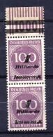 ALEMANIA REICH .  AÑO 1923.   Mi  331 B X 2 (MNH) - Deutschland