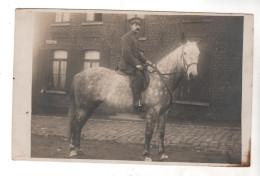 Nr. 6810,  FOTO-AK,  Pferd, Reiter - War 1914-18