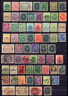 ALEMANIA REICH .  AÑO 1922-1923.   LOT INFLA (MH/USED) - Infla