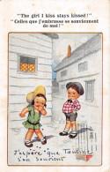 CPA Fantaisie - Illustrateur - COMIQUE Series - Enfants - Humour - 1900-1949