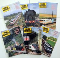 VOIES FERRES Intera Annata 2011 - TRENI - FERROVIE - FERMODELLISMO - 30 ANS DE TGV - RAIL - Giornali