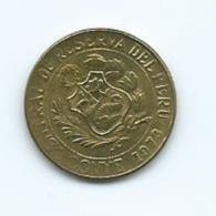Perou 10 Centavos 1973 - Pérou