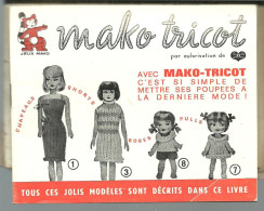 Notice Utilisation  MAKO TRICOT Avec Modèles - Wool