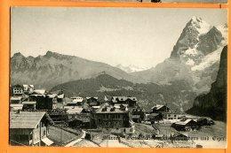 MAI067, Mürren, Wetterhorn, Eiger, Non Circulée - BE Berne