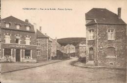 HERBEUMONT : Rue De La Hulette - Maison Delhaize- TRES RARE CPA - Cachet De La Poste 1929 - Herbeumont