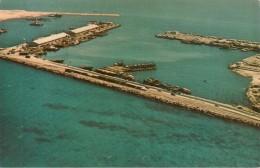 CPA-1965-ARABIE SAOUDITE-DAMMAN-Le NEW PORT-Vue AERIENNE-TBE - Arabie Saoudite