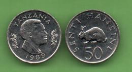 TANZANIA - 50 SENTI 1989 KM29 - Tanzanía