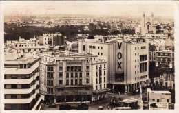 CASABLANCA - Un Coin De La Place De France, Fotokarte Als FP Gel.195?, Rollenstempel Freimachung, Gel.Casablanca > Da - Casablanca