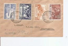 Basutoland -UPU ( Lettre De 1949 De Maseru Vers L'Afrique Du Sud à Voir) - 1933-1964 Colonia Britannica