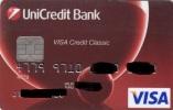 Czech Republic - UniCredit Bank - VISA - Geldkarten (Ablauf Min. 10 Jahre)