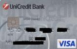 Czech Republic - UniCredit Bank - VISA - VISA Classic - Cartes De Crédit (expiration Min. 10 Ans)