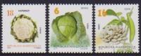 MACEDONIA ,2014,MNH, VEGETABLES,BEANS, CAULIFLOWER, CABBAGE, 3v - Vegetables
