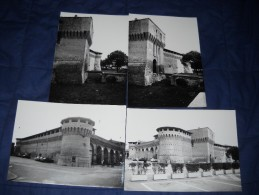 FORLIMPOPOLI - LOTTO DI 4  FOTOGRAFIE DEL 1978 CON DIDASCALIA SUL RETRO - ANIMATE CON AUTO - Lieux