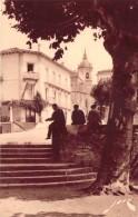 CPA Espagne Fontarabie Le Clocher Et Le Port De Sainte-Marie (animée) I1019 - Altri