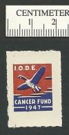 B31-02 CANADA 1947 IODE Cancer Fund Goose MNH - Local, Strike, Seals & Cinderellas