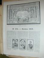 LAROUSSE 1929 N°272 AMERIQUE ESPAGNOLE ARMEE FRANCAISE COURBET GOYA FOCH QATNA-MISHRIFE SEVERINE TURQUIE VOL  HUMAIN UNI - Encyclopaedia