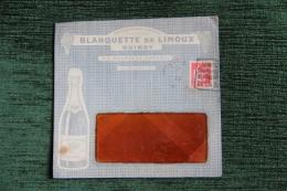 Enveloppe Timbrée Publicitaire Blanquette De LIMOUX - GUINOT, Vin Mousseux Naturel - Briefe U. Dokumente