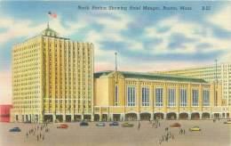 BOSTON - North Station Showing Hotel Manger - Boston