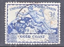 GOLD  COAST 146   (o)    U.P.U. - Gold Coast (...-1957)
