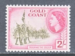 GOLD  COAST 157   *   COLOR  GUARD - Gold Coast (...-1957)