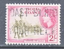GOLD  COAST 157   (o)   COLOR  GUARD - Gold Coast (...-1957)