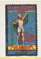 U.S.  OLYMPIC  VIGNETTE   * - Summer 1932: Los Angeles