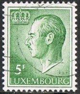 Luxembourg SG764ba 1974 Definitive 5f Granite Paper Good/fine Used - Luxemburg