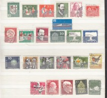 Germany 1957  Used Commemorative Stamps, Mostly Fine - [7] Federal Republic