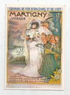 Publicité , MARTIGNY , VOSGES, Chemins De Fer D´Orléans Et De L´Est , Casino , Théâtre-concert , Automobiles... - Pubblicitari