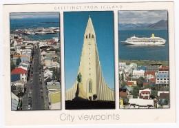 Reykjavik - City Viewpoints  - Iceland - Island - IJsland