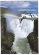 Gullfoss - The Golden Waterfall ( + Rainbow)  - Iceland - Island - IJsland