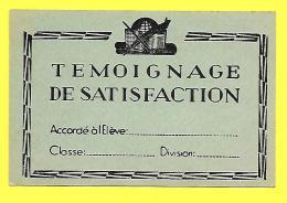 TEMOIGNAGE SATISFACTION Vierge « Image Bon Point ECOLE » Peu Courant - Diplomas Y Calificaciones Escolares