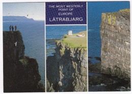 Látrabjarg: The Most Westerly Point Of Europe -  Iceland - West-Island - Vogelfelsen - IJsland