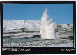 Strokkur ; The Old Faithfull Of  Iceland - Island - Springkilden Strokkur I Geysir - IJsland