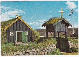 The Bell Tower And The Turf & Stone Church At Ärbaer  - Iceland - Island  - Reykjavik, The Muncipal Museum - IJsland