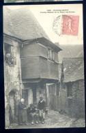 Cpa Du 29  Chateauneuf  -- Vieilles Maisons De La Place Des Halles  LIOB67 - Châteauneuf-du-Faou
