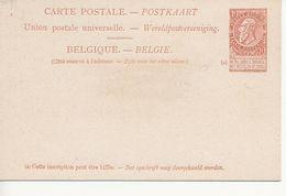 Paquebots De L'Etat Belge-Ligne Ostende -douvres-Ville De Douvres-10 C. Fine Barbe. - Entiers Postaux