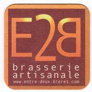 SOUS-BOCK E2B BRASSERIE ARTISANALE ENTRE-DEUX-BIERES - Sous-bocks