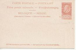 Paquebots De L'Etat Belge-Ligne Ostende -Douvres-La Flandre-10 C. Fine Barbe. - Entiers Postaux